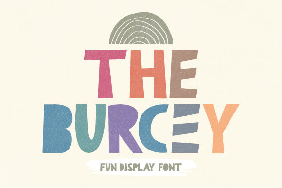 Print on Demand: The Burcey Display Font By Prioritype