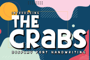 Print on Demand: The Crabs Display Font By edwar.sp111