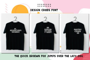 Print on Demand: The Crabs Display Font By edwar.sp111 3