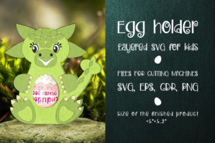 Print on Demand: Ankylosaurus - Chocolate Egg Holder SVG Graphic 3D SVG By Olga Belova
