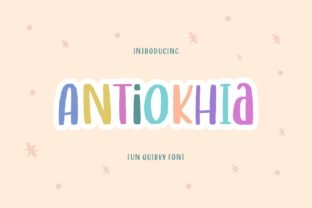 Print on Demand: Antiokhia Display Font By allouse.studio