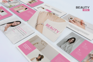 Beauty - PowerPoint Template Graphic Presentation Templates By Unicode Studio