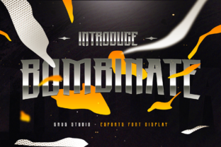 Print on Demand: Bombinate Display Font By febryan.satria1
