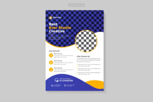 Business Corporate Flyer Design Template Graphic Print Templates By Design Sparkled 2