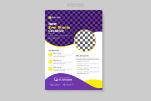 Business Corporate Flyer Design Template Graphic Print Templates By Design Sparkled 3