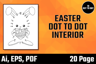 Print on Demand: Easter Dot to Dot Interior Bundle - 1 Graphic KDP Interiors By Moonfrog Design House