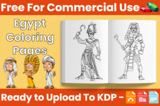 Print on Demand: Egypt Coloring Book for Kids - KDP Graphic Coloring Pages & Books Kids By Trend Color