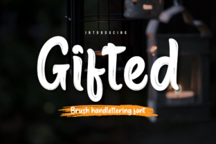 Print on Demand: Gifted Script & Handwritten Font By Productype
