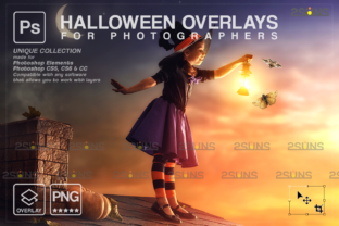 Halloween Overlays, Ghost Overlay Graphic Actions & Presets By 2SUNS