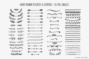 Hand Drawn Dividers Laurels & Arrows Graphic Illustrations By point