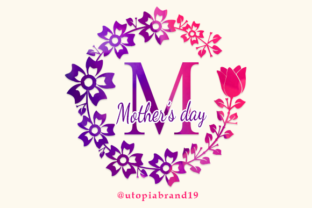 Print on Demand: Mothers Day Decorative Font By utopiabrand19