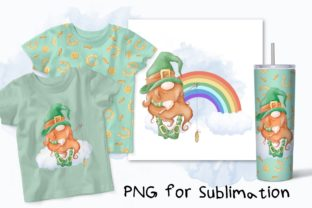 Patrick's Gnome Sublimation. Graphic Crafts By nicjulia
