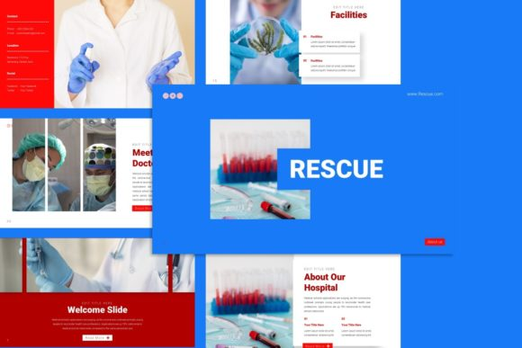 Presentation Template - Medical Graphic Presentation Templates By dijimedia