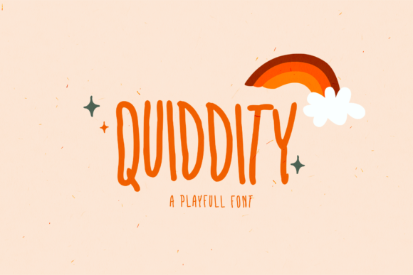 Print on Demand: Quiddity Display Font By febryan.satria1