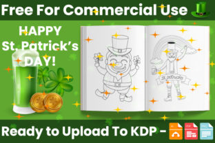 Print on Demand: St.Patrick's Day Coloring Book for Kids Graphic Coloring Pages & Books Kids By Trend Color