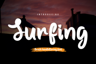 Print on Demand: Surfing Script & Handwritten Font By Productype