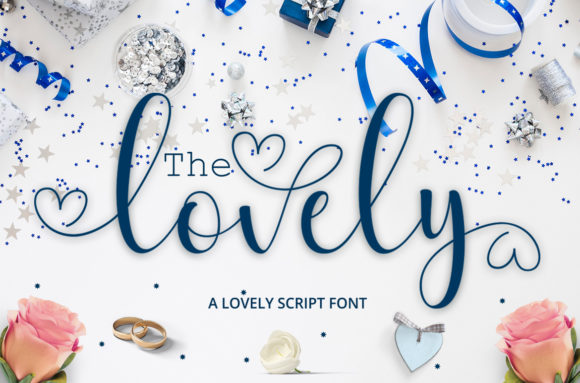 Print on Demand: The Lovely Script & Handwritten Font By Cut Story