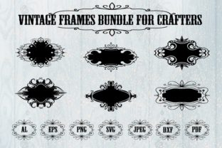 Print on Demand: Vintage Gothic Frame Graphic Illustrations By Art's and Patterns
