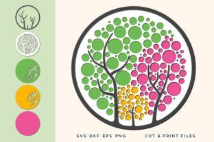 Wall Art 3D, Tree SVG, Layered Tree Graphic 3D SVG By 2dooart