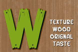 Print on Demand: Woody Display Font By edwar.sp111 4
