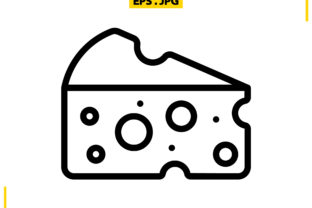 Cheese Graphic Icons By raraden655