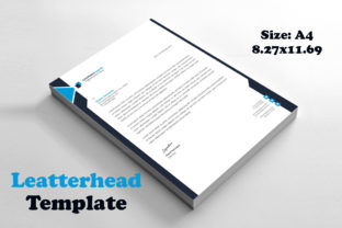 Business Letterhead Template Print Ready Graphic Print Templates By graphs_art