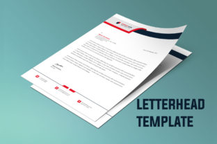 Business Letterhead Template Vector Graphic Print Templates By graphs_art