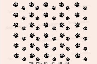 Dog Paw, Cat Paw Background, Wallpaper Graphic Backgrounds By RedCreations