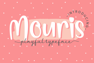 Print on Demand: Mouris Display Font By Dani (7NTypes)