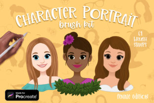 Procreate Portrait Creator Brushes Graphic Brushes By Brushed Rose