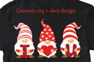 Three Gnomes Svg. Gnomes Svg. Gnome Eps Graphic Add-ons By EvArtPrint