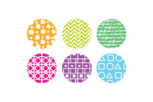 Round Keychain Backgrounds Designs & Drawings Craft Cut File By Creative Fabrica Crafts