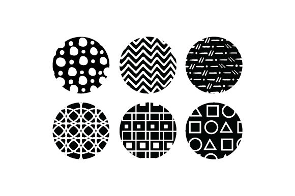 Round Keychain Backgrounds Cut File Download