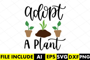 Adopt a Plant Graphic Crafts By Crafthill260