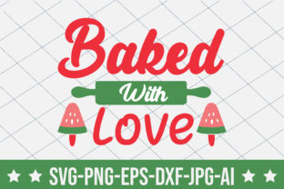 Baked with Love Graphic Crafts By crafthome