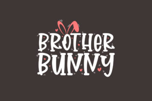 Print on Demand: Brother Bunny, Easter SVG Graphic Crafts By Netart