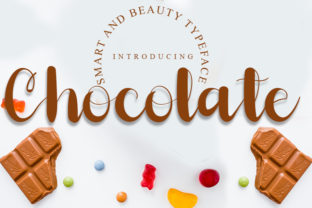 Print on Demand: Chocolate Script & Handwritten Font By FreshTypeINK