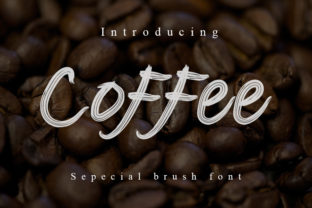 Print on Demand: Coffee Display Font By Slenting Art 1