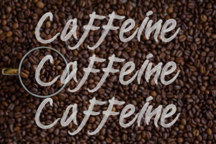 Print on Demand: Coffee Display Font By Slenting Art 3