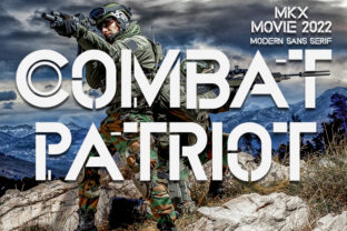 Print on Demand: Combat Patriot Display Font By FreshTypeINK