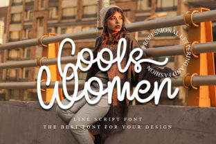 Print on Demand: Cools Women Script & Handwritten Font By FreshTypeINK