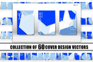 Cover Design with Hexagon Background 14 Graphic Graphic Templates By Artnoy