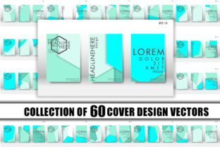 Cover Design with Hexagon Background 16 Graphic Graphic Templates By Artnoy