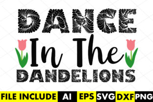 Dance in the Dandelions Graphic Crafts By Crafthill260