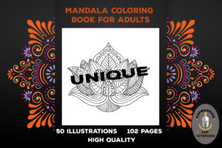 Flower Mandala Coloring Book for Adults2 Graphic Coloring Pages & Books Adults By KDP-WARRIOR