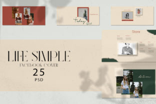 Life Simple Facebook Cover Banner Graphic Web Elements By qohhaarqhaz