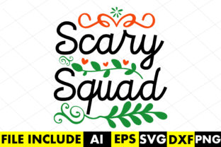 Scary Squad Graphic Crafts By Crafthill260