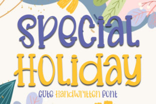 Print on Demand: Special Holiday Display Font By FL Space