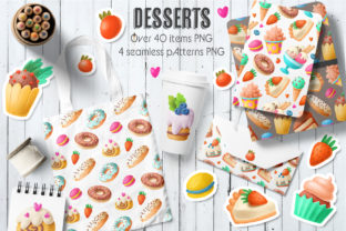 Print on Demand: Sweets Clipart Graphic Illustrations By Architekt_AT
