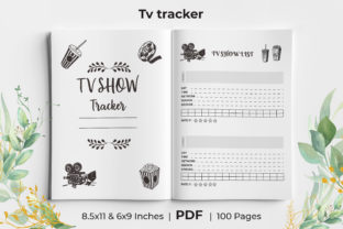 Print on Demand: TV Series Tracker Logbook KDP Interior Graphic KDP Interiors By KdpKing